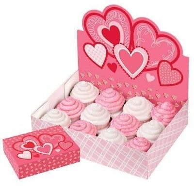 Valentine Heart Cupcake Display Box from Wilton #0574 - NEW ()