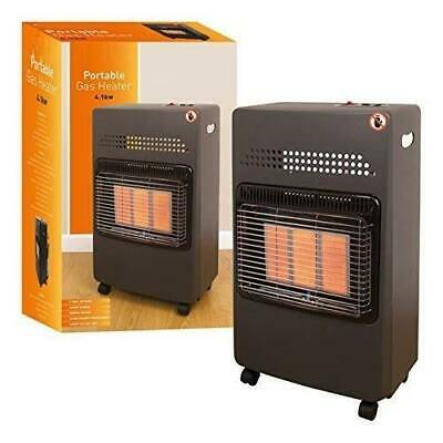 4.1kw Butane Gas Portable Cabinet Heater Fire Heating Winter Regulator Hose