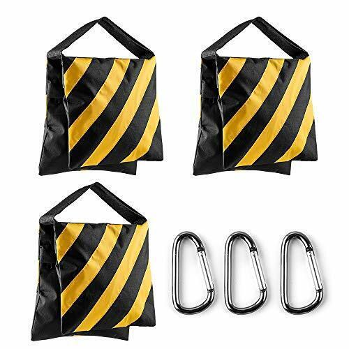 Sand Bag Photography Studio Video Heavy Duty Sandbag Saddlebag for Photo Yellow
