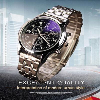 Luxus Herren Armbanduhr Uhr Herrenuhr Sport Mode Quarz Analog Uhr wasserdicht