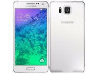 Samsung Alpha 16gb Unlocked To All Network - Black - White - £110 - With Warranty