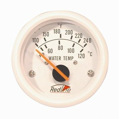 "Redline 2"" 52mm Boat Marine Electric Water Temperature Gauge with Sender MA-12"