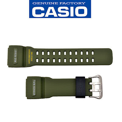 Genuine CASIO G-SHOCK Watch Band Strap Mudmaster GG-1000-1A3 Original Green for sale  Pasadena