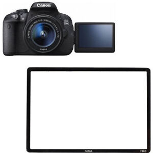 Canon 700D Rebel T5i Kiss X7i LCD Screen Protector Save Glass