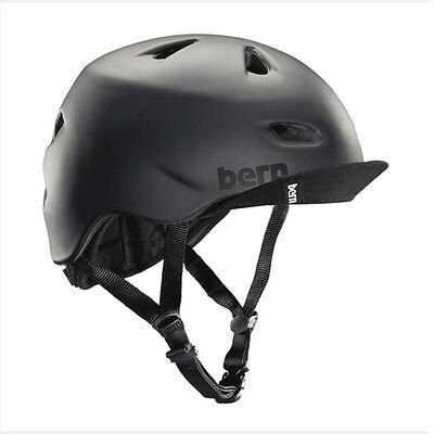 Bern Brentwood Summer Cycling Helmet (Matte Black / Small - Helmet Small Matte