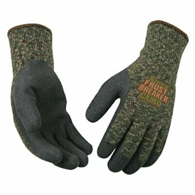 Kinco 1788-l Frost Breaker Camo Form Fitting Thermal Gloves Size Large