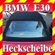 BMW E30 Cabrio Heckscheibe