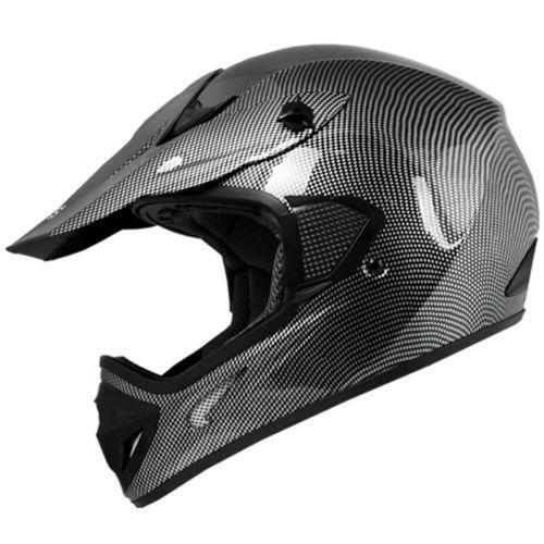 Carbon Fiber Motorcycle Helmets >> Carbon Fiber Motocross Helmet   eBay