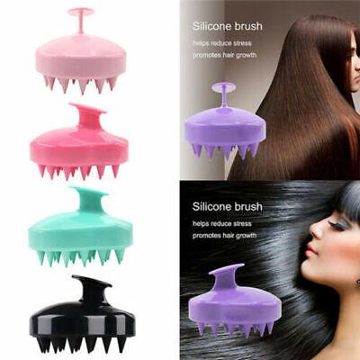Shampoo Kopfhaut Dusche Massage Massagegerät Bürste Kamm Körper waschen Haare