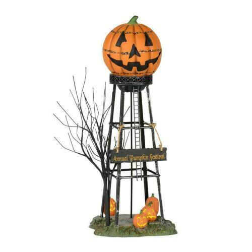 Dept 56 HALLOWEEN WATER TOWER Halloween Village Accessory 53223 DEALER STOCK NEW