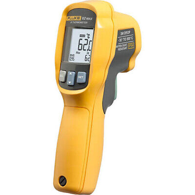 Fluke 62 Max Infrared Thermometer 30 To 500 C 101 Spot Size Ratio