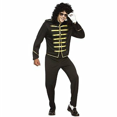 Michael Jackson Halloween Costume NEW Mens One Size Fits Most Rasta Imposta