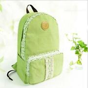 Flower Canvas Backpack