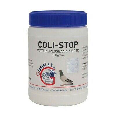 Coli-stop Ecoli Adenocoli 100g Y.B Sickness & Loosing Weight etc. Pigeons, Birds