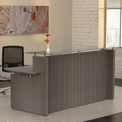 Modern Reception Desk Receptionist Station Office Room Furniture Salon Table New