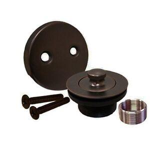 New Oil Rubbed Bronze Bathtub Tub Trim Drain Assembly EBay