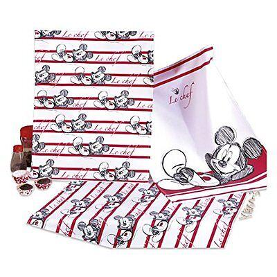 Disney Mickey Mouse 3 Geschirrtücher   50 x 70 cm  neu