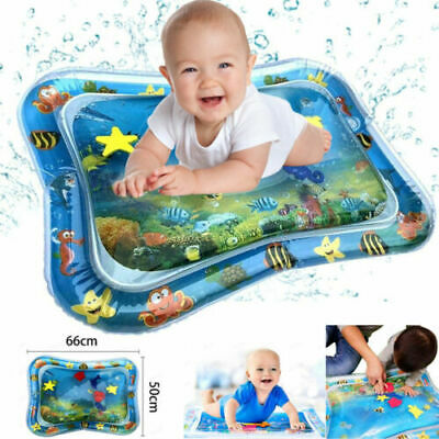Inflatable Baby Water Mat Play Fun for Kids Children Infant Best Baby Tummy Time