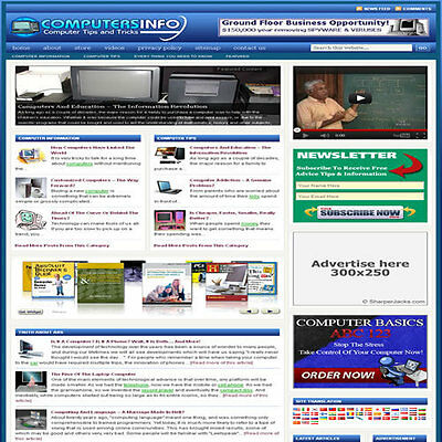 Established Technology Affiliate Website Turnkey Business Free Hosting