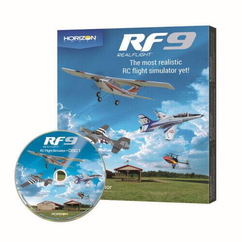 Real Flight RFL1101 RF9 Flight Simulator Software Only