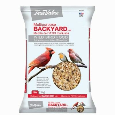 (2) KAYTEE 5 LB BAG WILD BIRD FOOD BIRD FEED SEED 4% OIL SUNFLOWER - 100037106