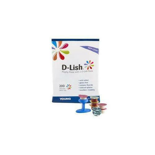 Young Dental 304220 D-Lish Prophy Paste Fine Assorted 200/Bx