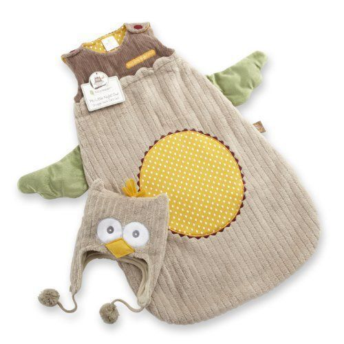 Baby Aspen My Little Night Owl Snuggle Sack and Cap