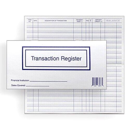 5 Checkbook Transaction Registers 2021 2022 2023 Calendar Check Book Register