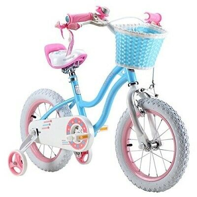 "ROYAL BABY STAR KIDS PRINCESS CHILDREN CHILD GIRLS BIKES IN SIZE 12"" 14"" 16"""