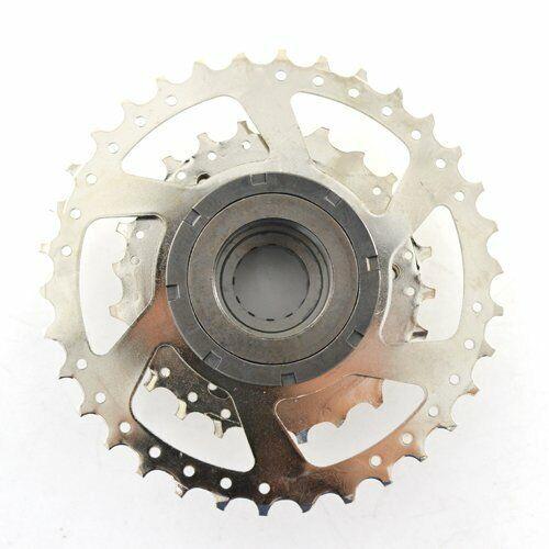 Fits SRAM DNP 7-Speed Screw-on MTB Bike Freewheel Nickel Plate 11-28T