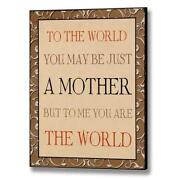 Mothers Day Sign