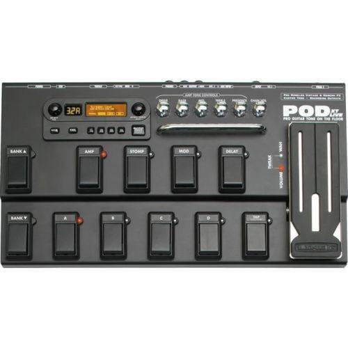 Line 6 pod 2. 0 new features midi manuals.