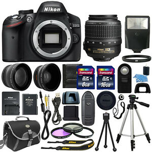 Nikon-D3200-Digital-SLR-Camera-3-Lens-18-55mm-VR-II-NIKKOR-Lens-24GB-Bundle