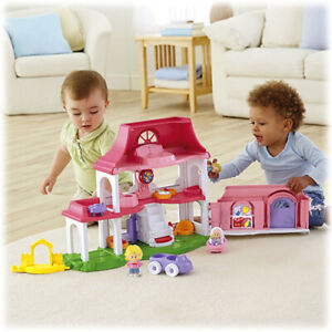 NEW: Fisher-Price 'Little People' Happy Sounds Home Play Set-$40