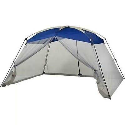 Outdoor Blue Ozark Trail Screen House 13' x 9' Backyard Beach Picnic Camping