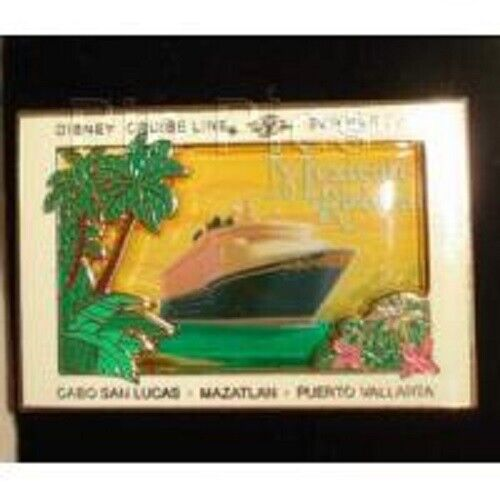 Disney Pin - DCL - Mexican Riviera Cabo San Lucas Mazatlan Puerto Vallarta