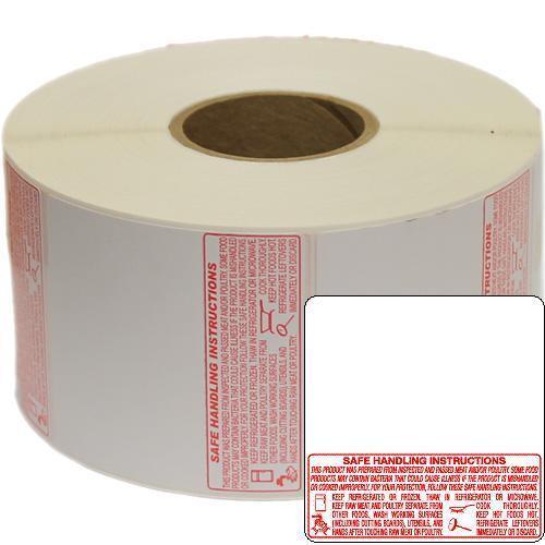 TORREY Safe Handling Thermal Label (W-Label, LSQ, WLS) 60mm,12 Rolls