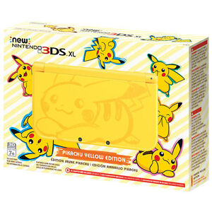 new Nintendo 3DS XL Pikachu Edition - Yellow New/Sealed Neuf