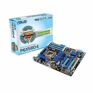 ASUS P6X58D-E i7 motherboard CPU i7 938 and  4GB Corsair ddr3 Bundle semi used