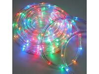 EXCELLENT CONDITION QTX 720 LEDS BRIGHT 20M LED ROPE LIGHT WATERPROOF PARTY WEDDING XMAS CHRISTMAS