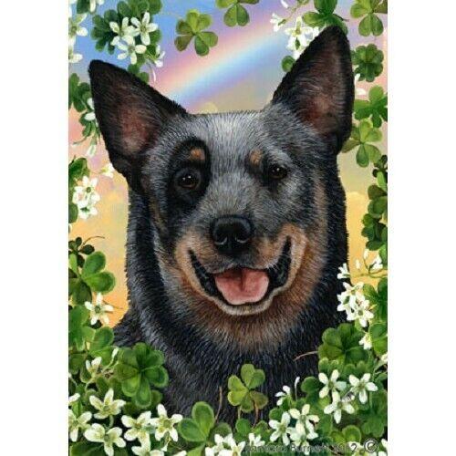 Clover House Flag - Blue Australian Cattle Dog 31072