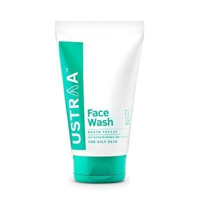 Brain Freeze Face Wash for Oily Skin by Ustra 100 gm At best price Free