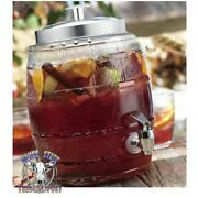 Glass Sun Tea Pitcher