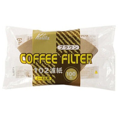 Kalita NK102 Coffee Filter Paper Brown 100p Hand Drip For 2 To 4 Cup