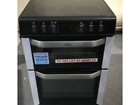 BELLING FSE60DO Electric Ceramic Cooker Black