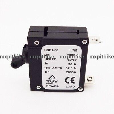 230v 30 Amp 30a Generator Circuit Breaker Hertz 5060 37.5 Trip Amps