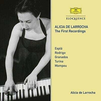 Alicia De Larrocha   First Recordings  New Cd  Australia   Import