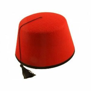 efd5a0399 5 X Red Fez Hat Moroccan Turkish Tommy Cooper Hats Fancy Dress Costume 011