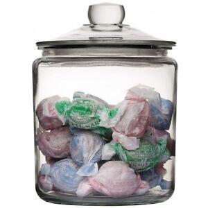 Litre Glass Storage Jars