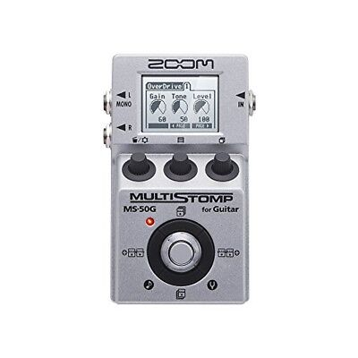 ZOOM MS-50G MULTI STOMP Multi-Effects Guitar Pedal From Japan Free Shipping